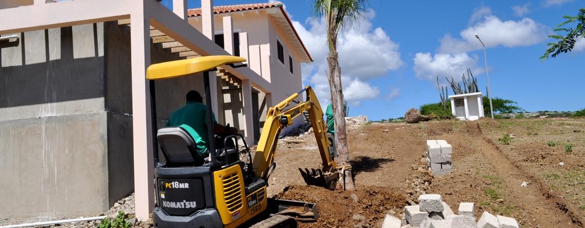 Construction of a garden
